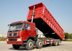 大運 N8C重卡 340馬力 8X4 自卸車(DYX3311PA38WPD3D)