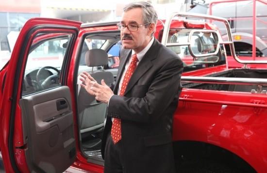 进军皮卡市场专访一汽通用总裁狄德威