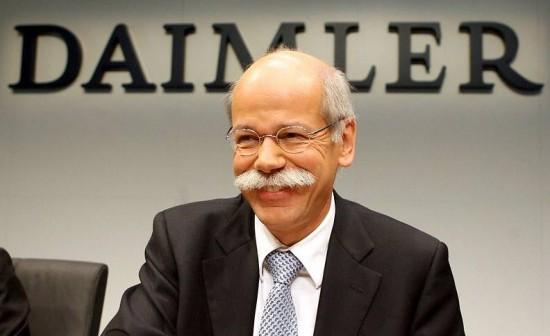戴姆勒或将与现任CEO合约延长至2016年